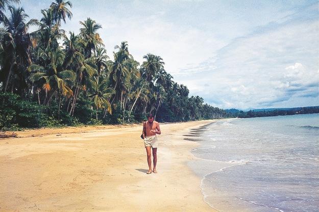 am Strand von Cahuita 1980