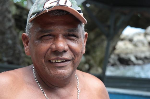 Fischer in Cahuita
