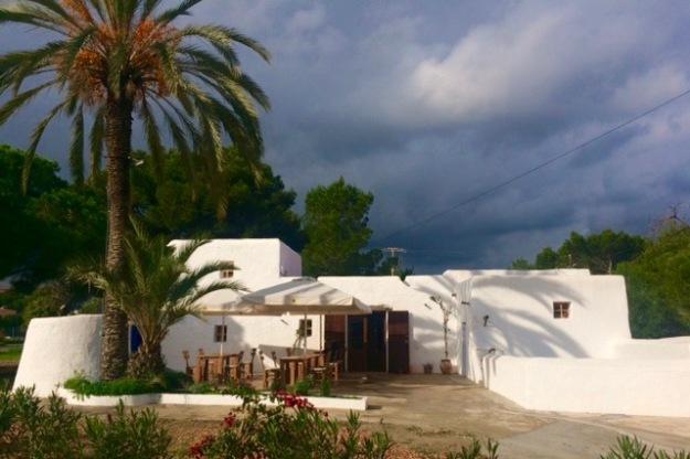 Restaurant Can Musson in einer alten Finca mitten in der Stadt
