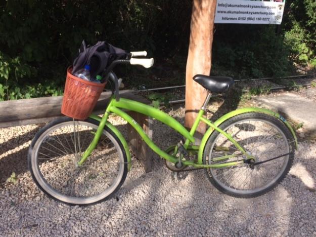 Fahrrad in tulum