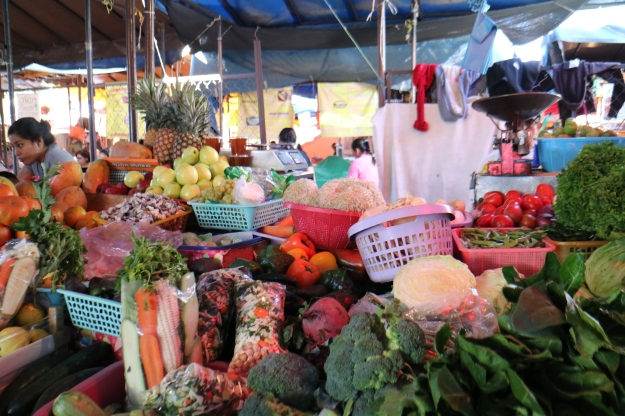 Gemüse in Mexico