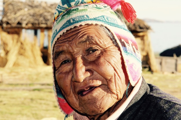 Aymara am Titicacasee