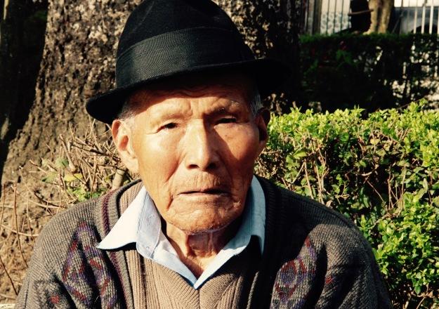 Bauer in Coroico:Bolivien