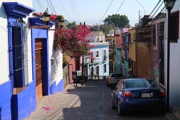 Strassen von San Cristobal, Mexico