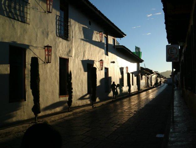 San Cristobal Morgendämmerung