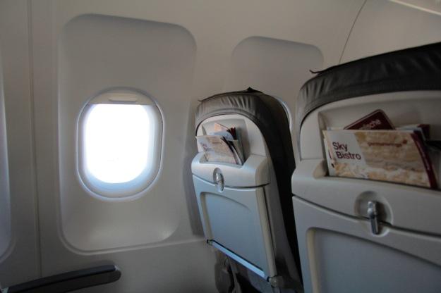 Isometrische Übungen auf Langstreckenflügen