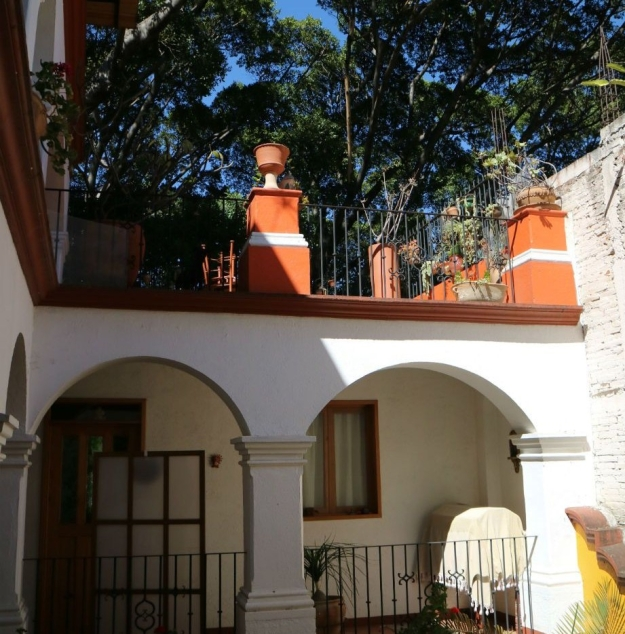 Sprachschule Oaxaca aussen