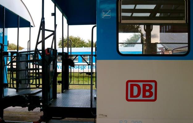 die einzige Schmalspurbahn der Deutschen Bahn