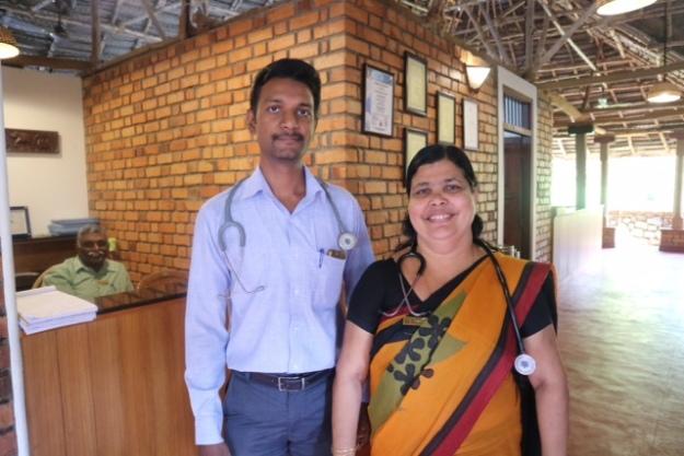 Ärzte im Somatheeram Ayurvedic Health Resort