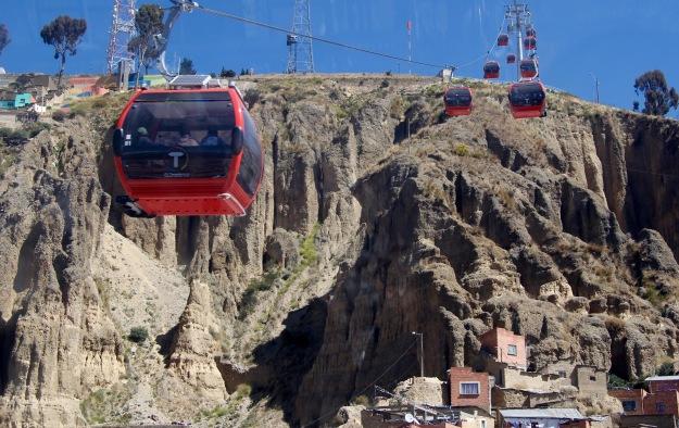 Seilbahn von La Paz