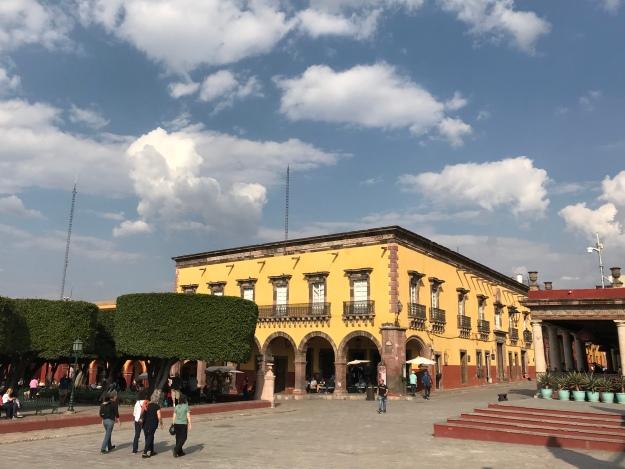 Der zentrale Platz von San Miguel de Allende