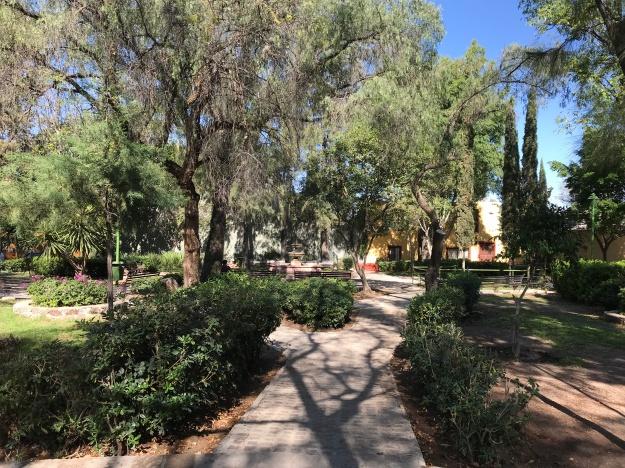 Parque La Guadiana mit dem walk of famous