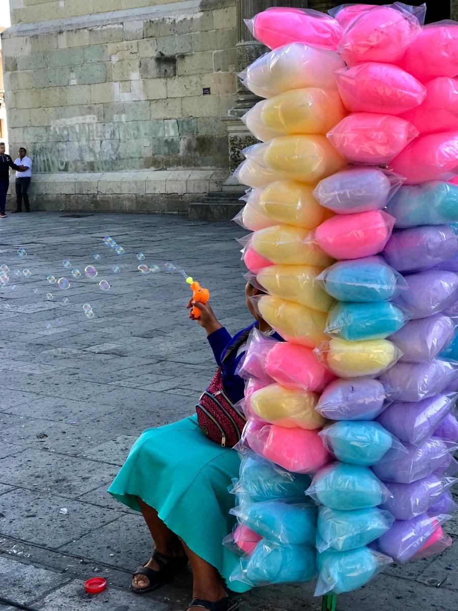 Suikerspin in Oaxaca