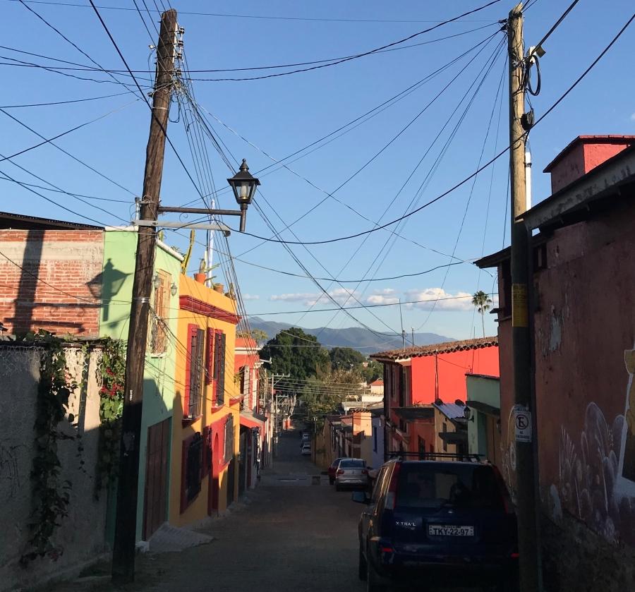 In de straten van Oaxaca