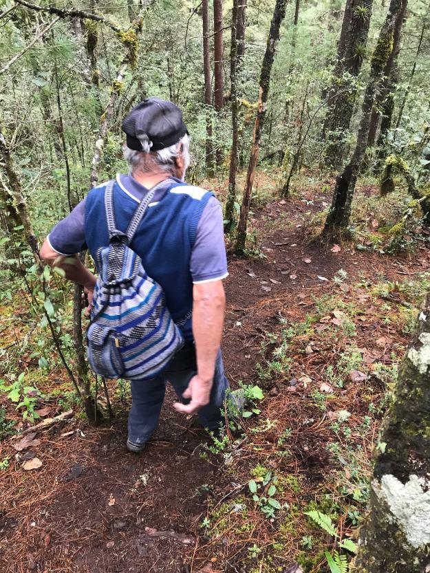 Wanderwege in der Sierra Norte