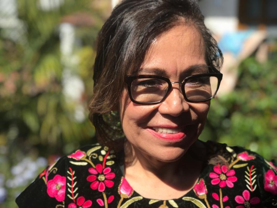 Carmen Velasco vom Hotel Las Golondrinas