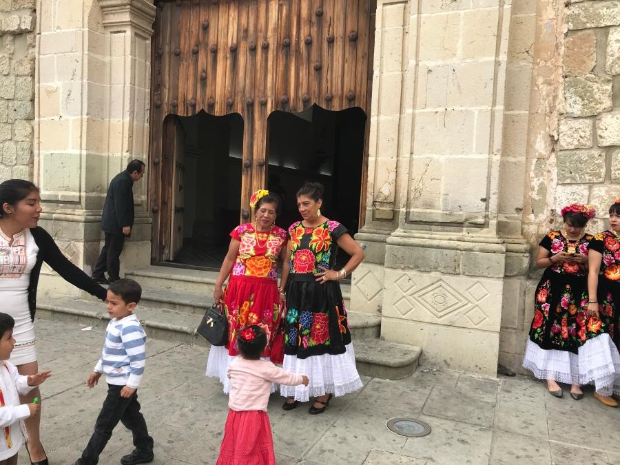 Vrouwen in Oaxaca