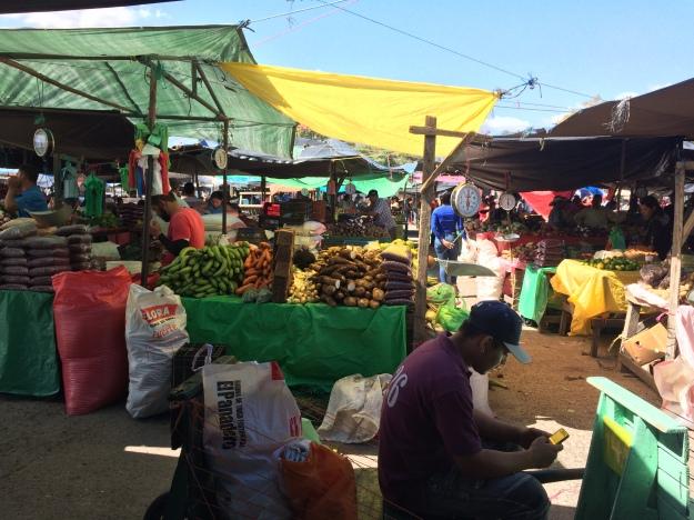 Markt in Tegucigalpa