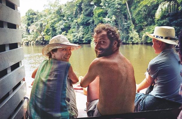 En el rio  Beni 1980