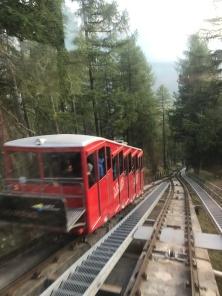 Mit der Bergbahn die Molojaschlange schauen